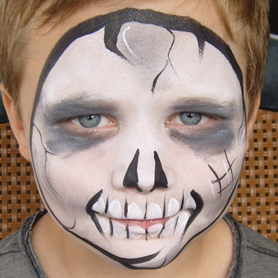 Face painting in Christchurch