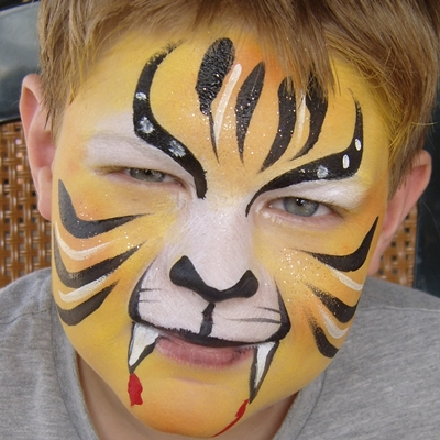 Face painting in Poole